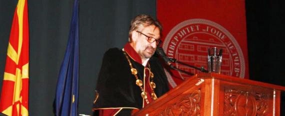 Ректорот проф.д-р Блажо Боев им се обрати на студентите со ретко инспиративен говор
