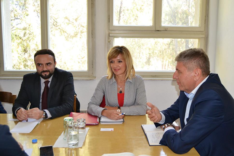 На средбата присуствуваше и новиот градоначалник на Кочани Николчо Илијев