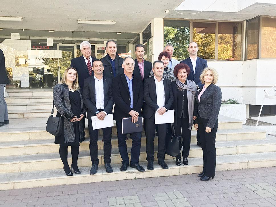 Советниците од СДСМ и коалицијата кои имаат мнозинство во Општинскиот совет