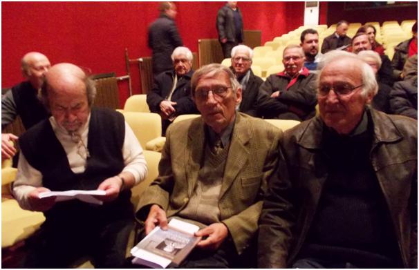 Од лево: Михаил Ренџов, Столе Троицки и Благој Самоников
