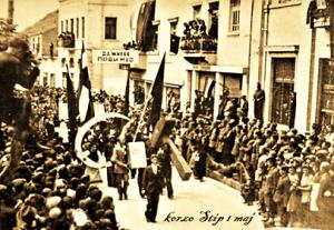 Парада за први мај у Штип