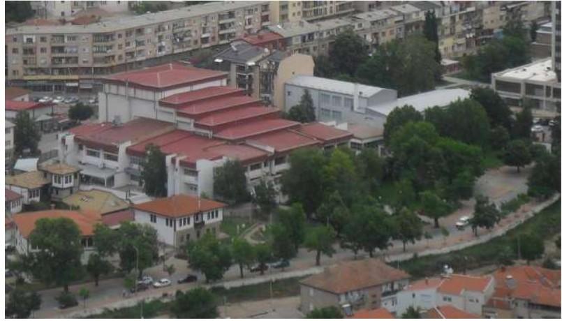 Местото на Еврејското маало денес