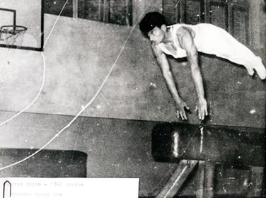 Кирчо Зрлев - Државен првак во гимнастика