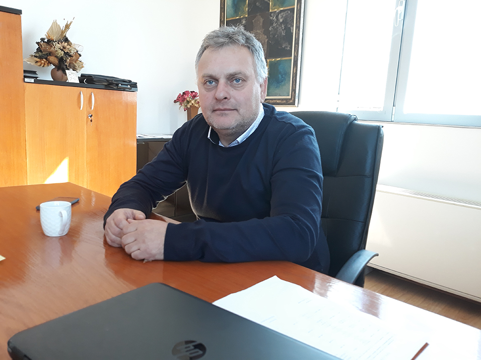 Mиле Илиевски, в.д. директор